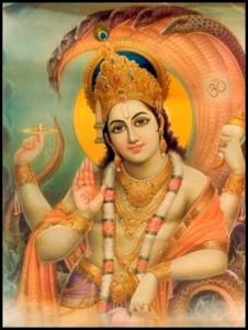 Blessing From Vishnu