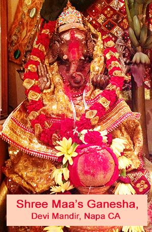 Ganesha-Shree-Maa's-Altar-2
