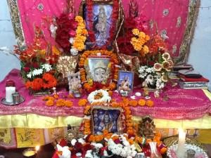 Shree Maa's Altar in Swami Ramkripaluji's Ashram Rishikesh 2