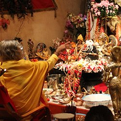 Shree-Maa-in-Puja