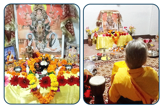 Shree-Maa's-Altar-in-Rishikesh