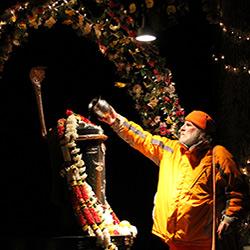 Swamiji-Worshiping-Napeshwara