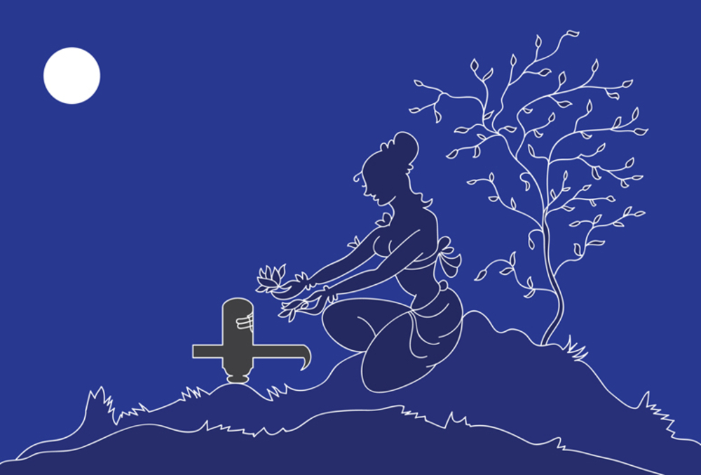 bigstock-Lady-doing-Hartalika-Teej-shi-16776188