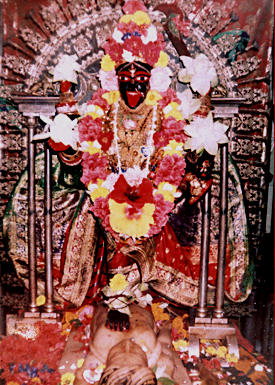 Dakshineswar Kali Worshiped by Sri Ramakrishna