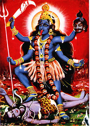 Kali, Remover of Darkness
