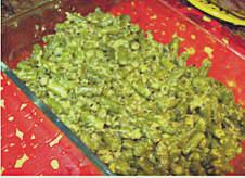 shree maa's green beans with coconut recipe