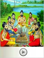 hindu ritual method video class